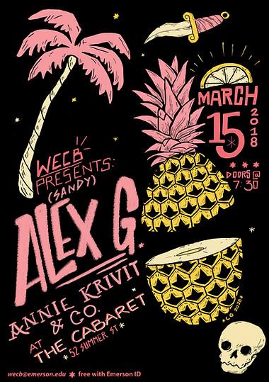 Alex G Live @ The Cabaret