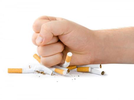 A luta contra o tabagismo