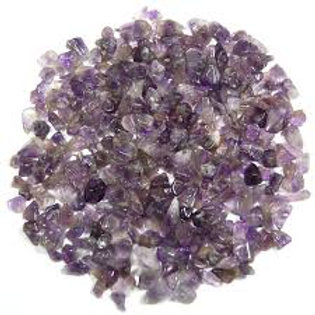 Amethyst Crystal Chips for Crystal Infusions (100g)