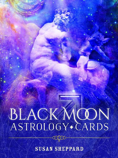 Black Moon Astrology Cards by Susan Shepherd