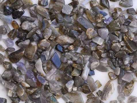 Labradorite Crystal Chips for Crystal Infusions (100g)