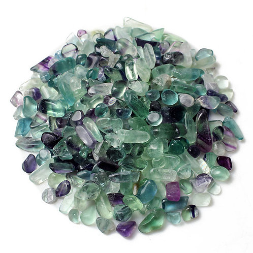 Fluorite Crystal Chips for Crystal Infusions (100g)
