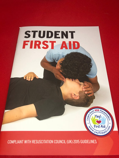 Student First Aid Book