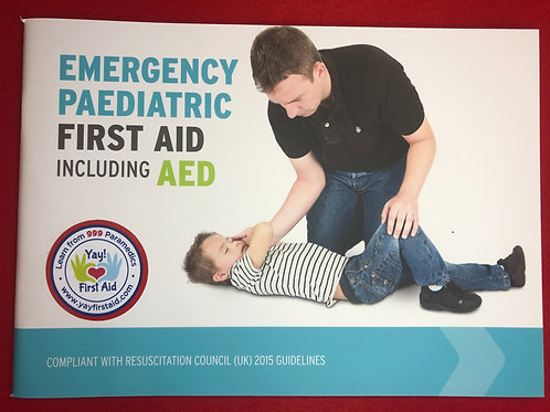 Emergency Paediatric First Aid Book