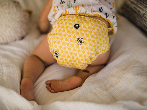 Buttons Diaper Wrap Newborn