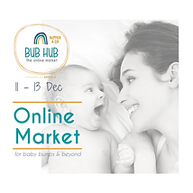 Bub Hub Online Market Picture with baby smiling at Mum