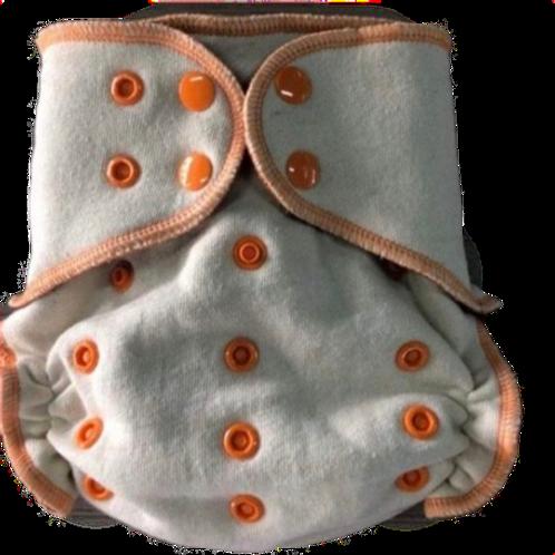 Bells Bumz hemp fitted nappy
