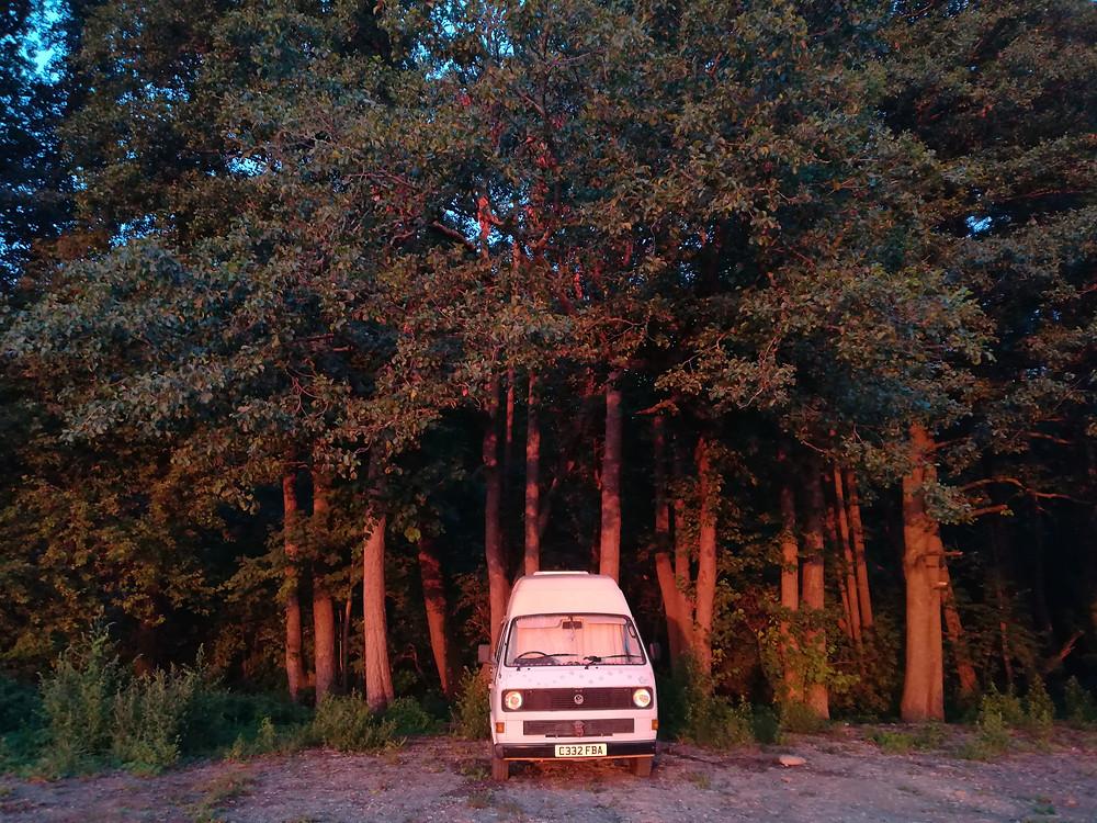 Wild camping Estonia