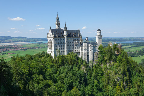 Neuschwanstein Castle and Bürgerfest