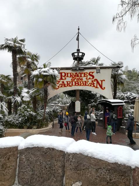 Snowy Disneyland