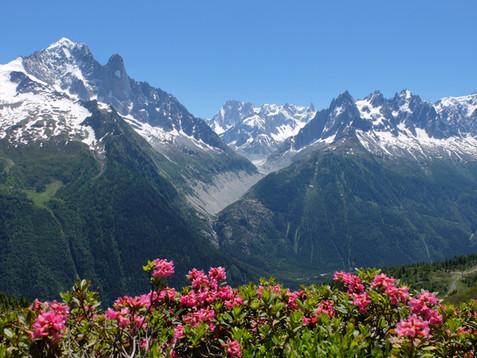 Climbing and hiking in Chamonix