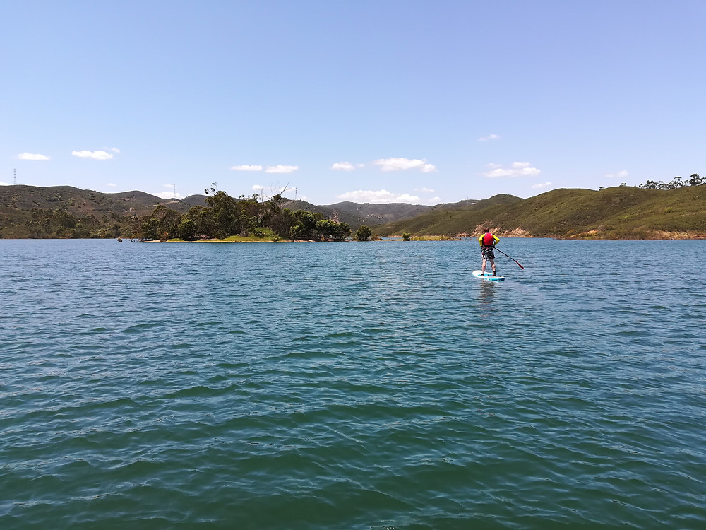 Paddleboarding Albufeira da Barragem do Arade