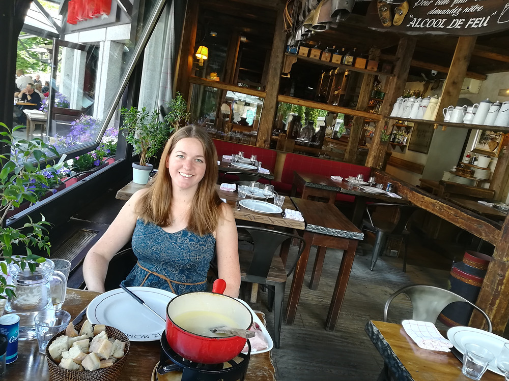 Le Monchu cheese fondue