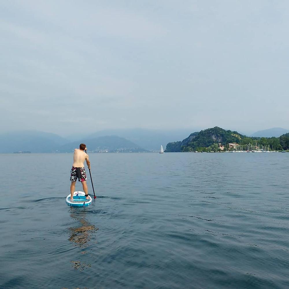 SUP Lake Maggiore