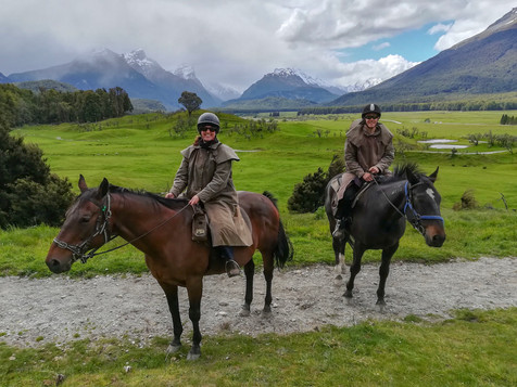 Queenstown and a horse ride to Isengard