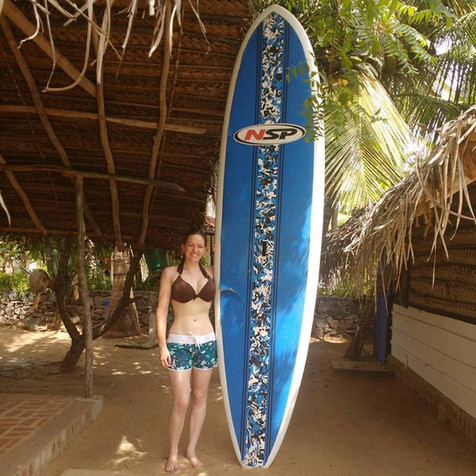 Sri Lanka: paddleboarding
