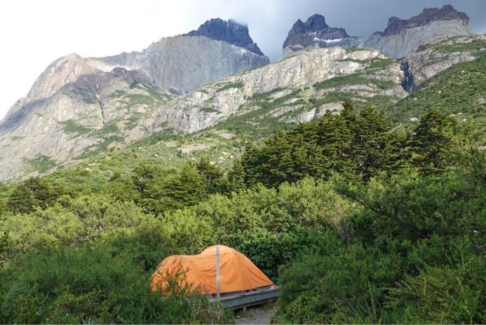 W Walk camping