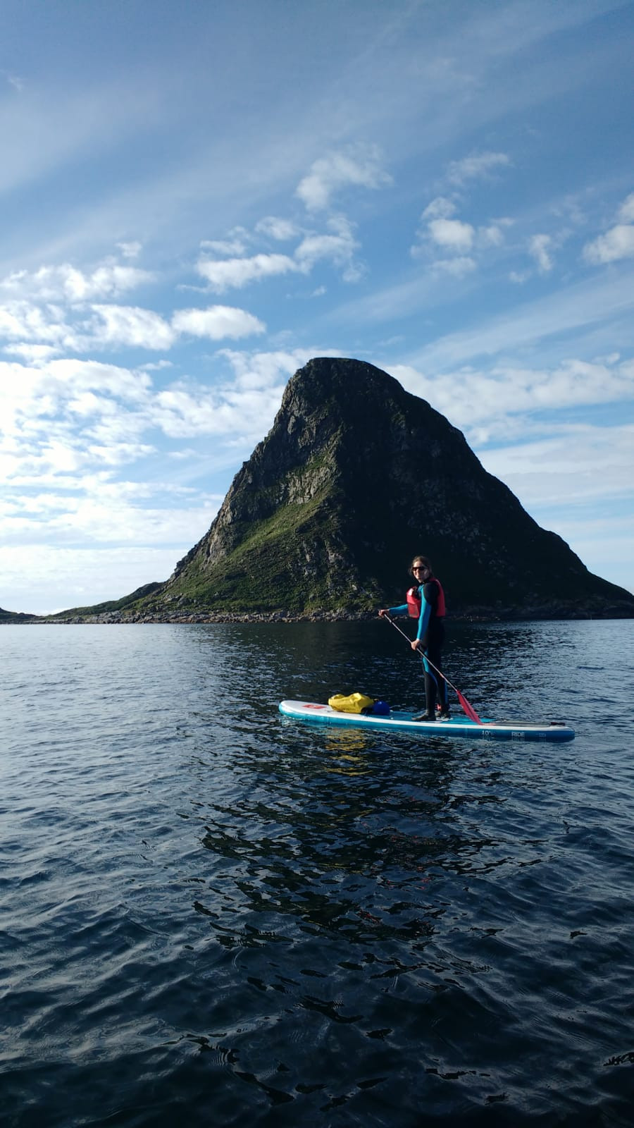 Paddleboard Lofoten Islands