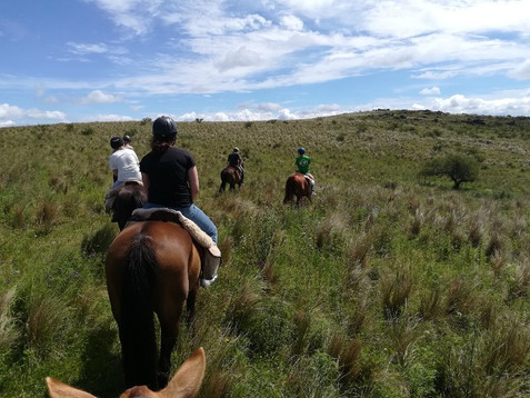 Gauchos, riding and climbing
