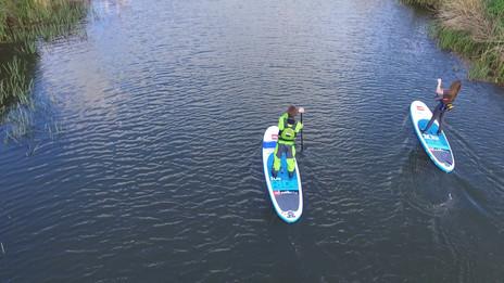 Paddleboarding in Hythe