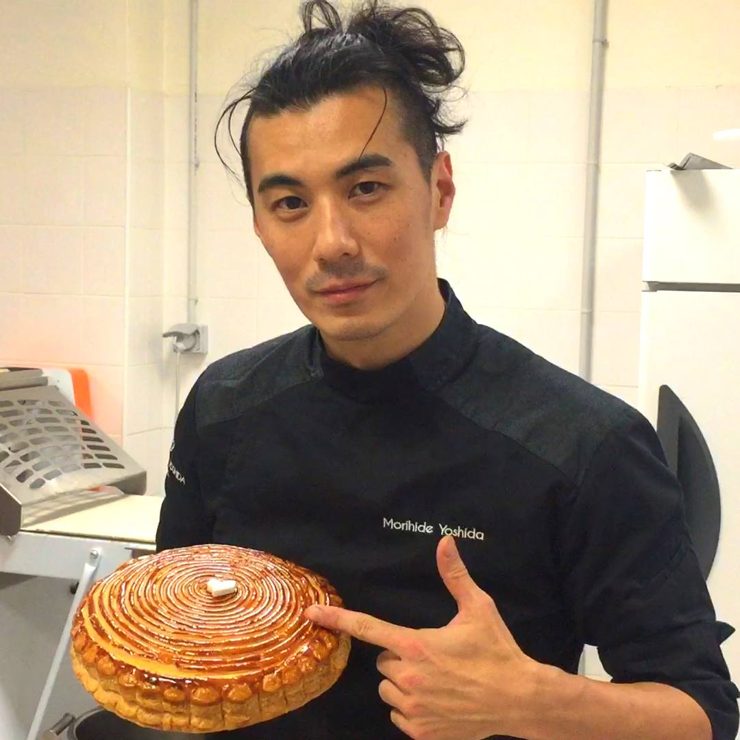 Pastry chef fuses Japanese and French flavors