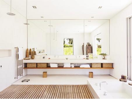 Spa chique:  dicas que você precisa saber para decorar o seu banheiro.