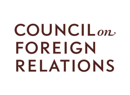 Council on Foreign relations Virtual Meeting: Term Member Workshop on How to Present Online
