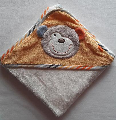 Kapuzenbadetuch Set Bär