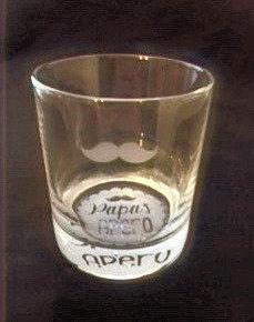 "Glas ""Papa's Apero"""