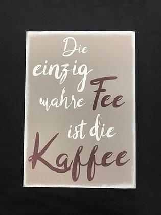 "Holzschild ""Kaffee"""