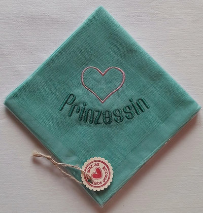 Nuscheli Herz Prinzessin