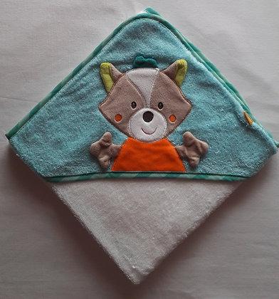 Kapuzenbadetuch Set Fuchs