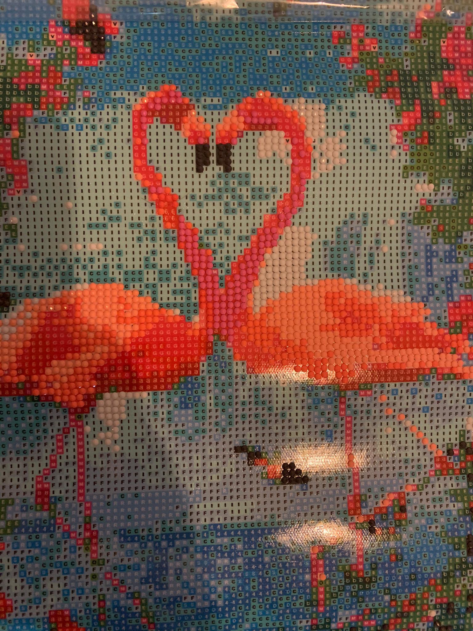 Diamond Pictures Flamingo