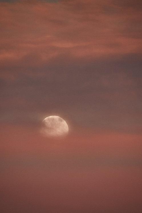 Fullmoon Sunset