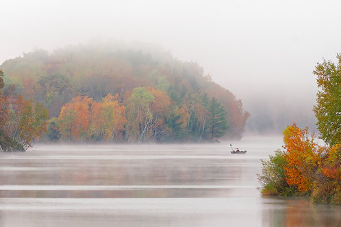 Foggy Fisherman