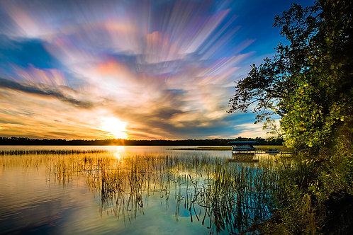 Lakeside Sunset 2