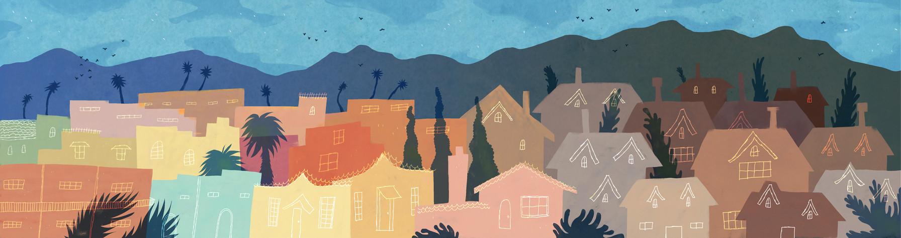 BPR: LA HOUSING ILLUSTRATION