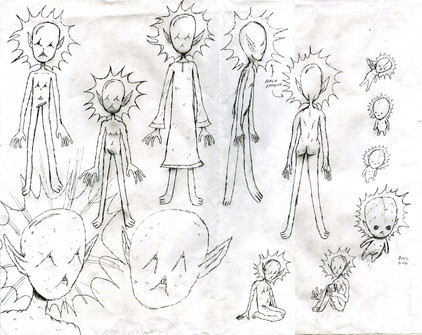 chaos god sketches