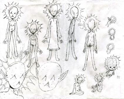 chaos god sketches