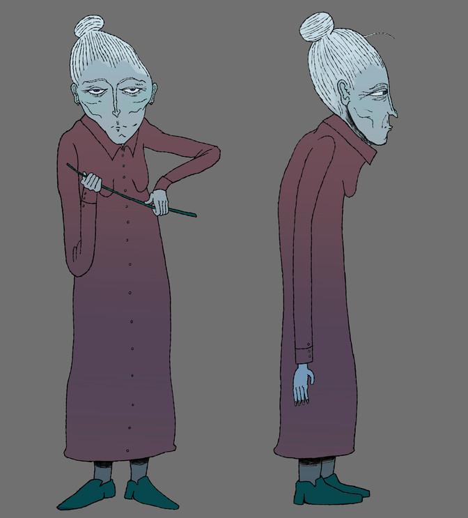 teacher character design