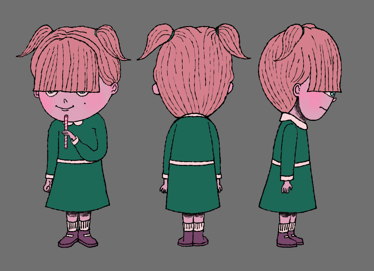 bully child character design