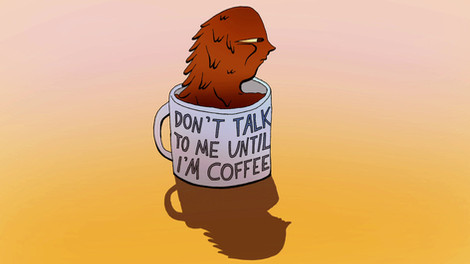 Don't Talk to Me Until I'm Coffee