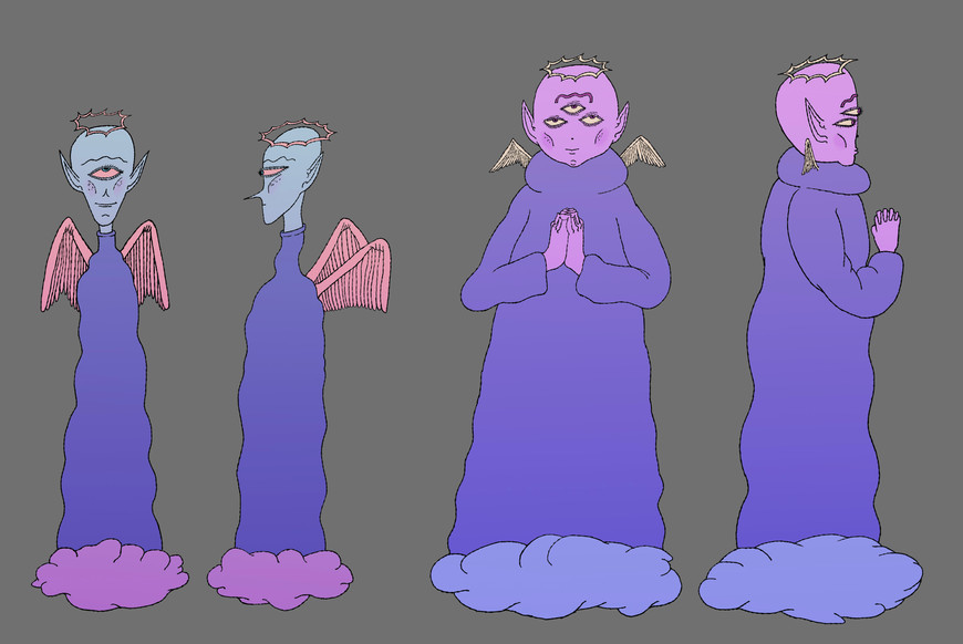 angels character design