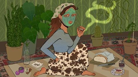 Taurus Girl Animation