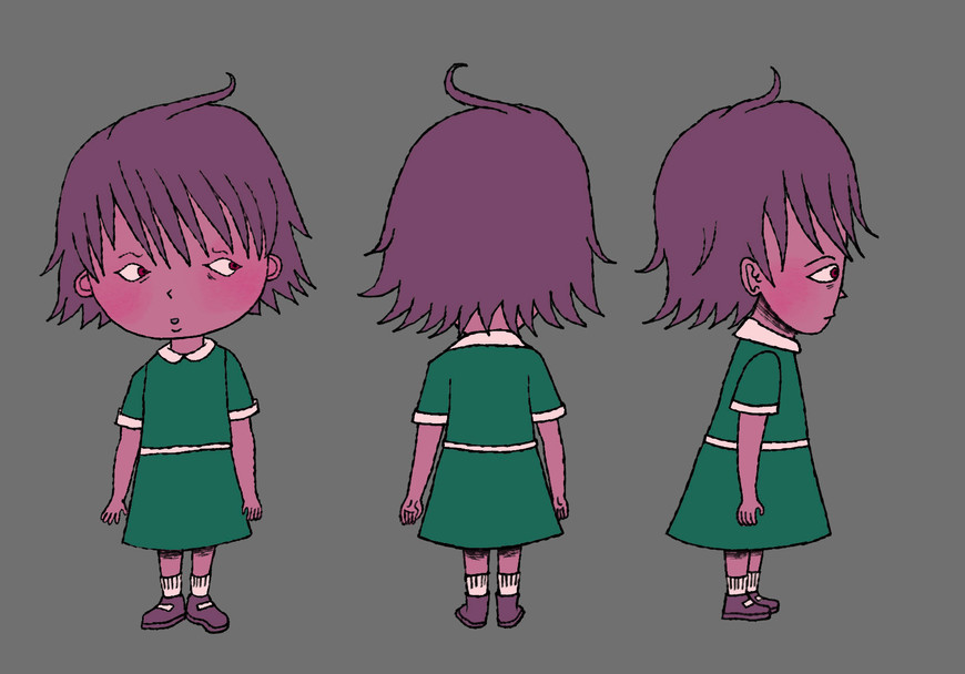 main child character design