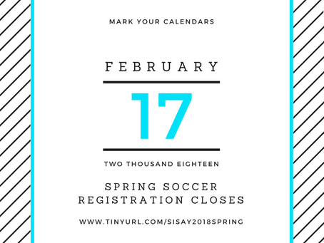 Spring Registration Closes Soon