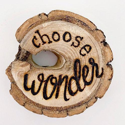 """2"""" Choose wonder sticker"""
