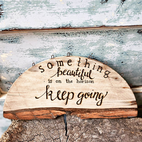 Keep going horizon