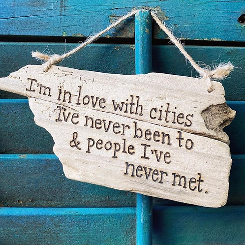 I'm in love with cities...