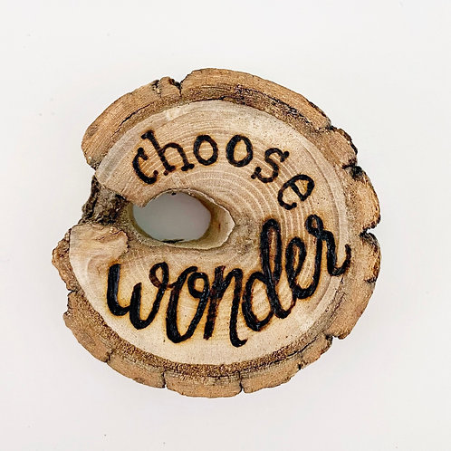 Choose wonder magnet